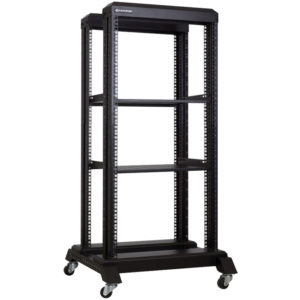 Linkbasic 22U 600 Deep Cabinet Open Rack & 2 Shelves